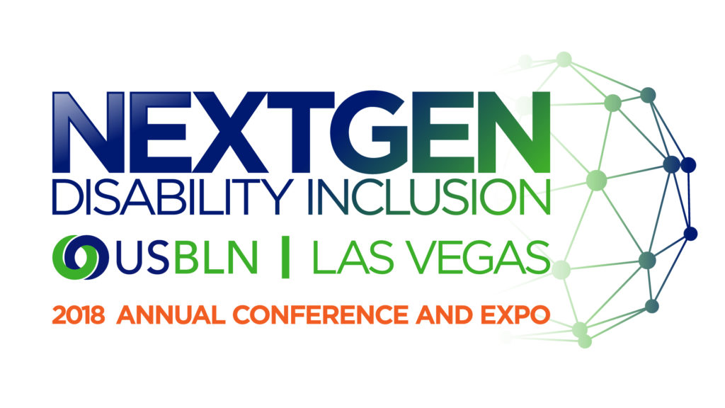 The theme for the 2018 USBLN Annual Conference is: NextGen Disability Inclusion