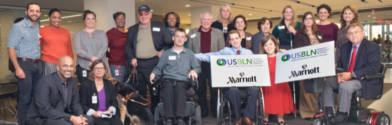 Group of people who participated in the Marriott/USBLN innovation session