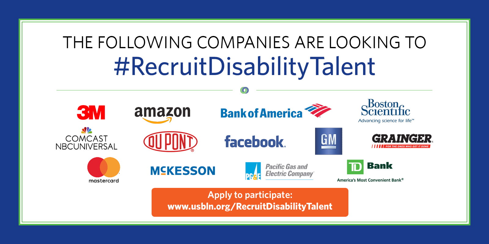 News events usbln usbln connects talent with disabilities with top corporations through innovative virtual career event washington dc march 07 2018 globe newswire altavistaventures Images