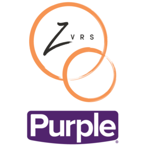 Double logo for the Purple Brand and ZVRS